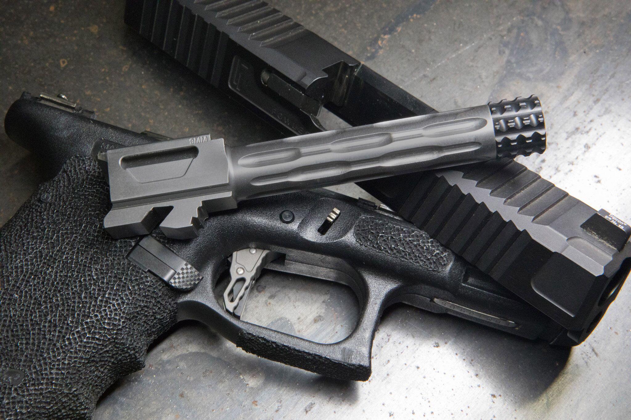Velocity Arms Glock 19 Threaded GP Barrel W/ Thread Protector MDC Finish